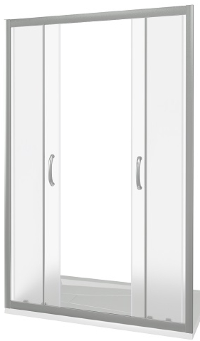 Good Door Infinity WTW-TD-150-C-CH Душевая дверь